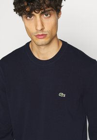 Lacoste - Sweter - navy blue - 5