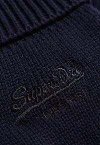 Superdry - VINTAGE LOGO CLASSIC - Gloves - eclipse navy/black grit - 1