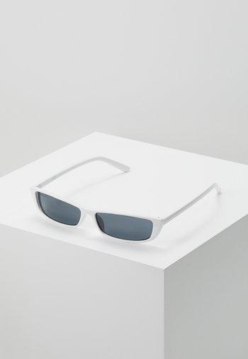 SUNGLASSES TUNIS - Sunglasses - white/black