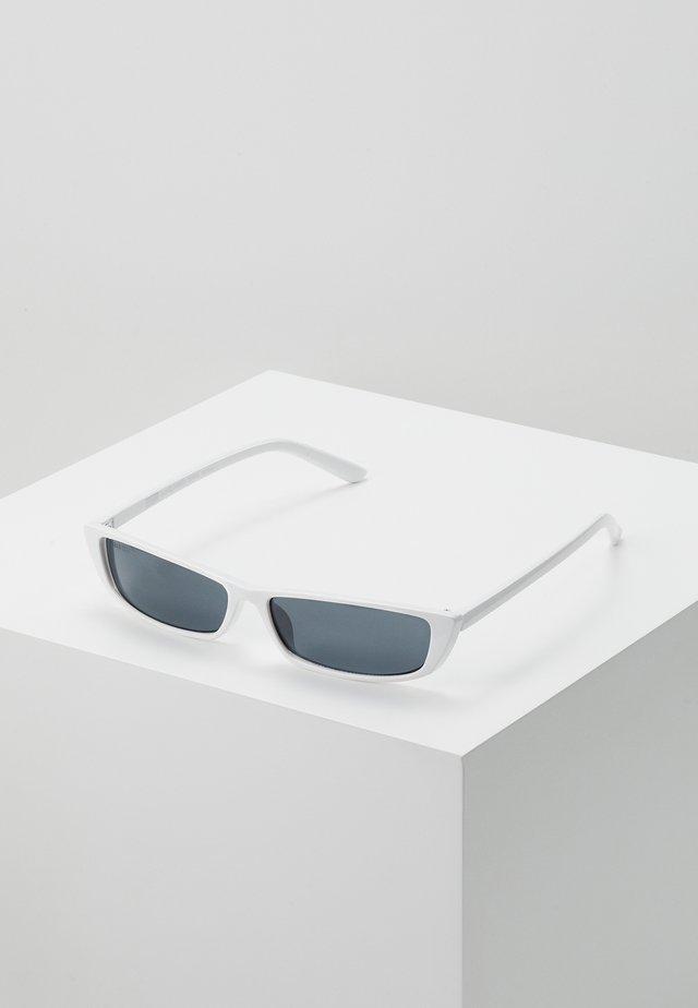 SUNGLASSES TUNIS - Solbriller - white/black