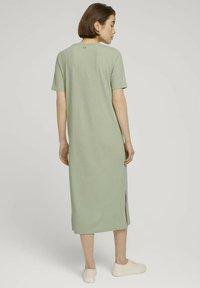 TOM TAILOR DENIM - Jersey dress - light dusty green - 2
