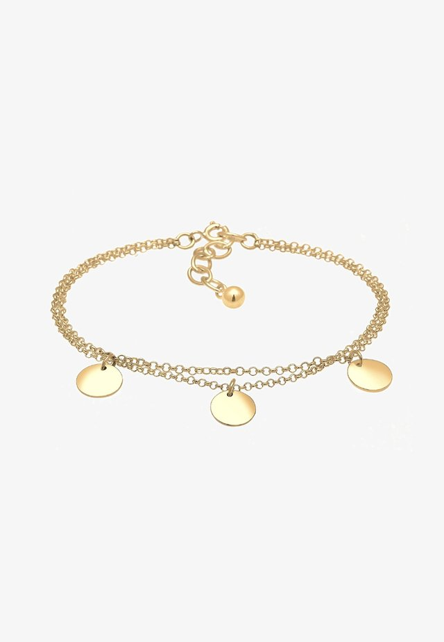 PLÄTTCHEN - Bracelet - gold-coloured