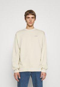 Maison Labiche - LEDRU AMOUR - Sweatshirt - linen beige washed - 0