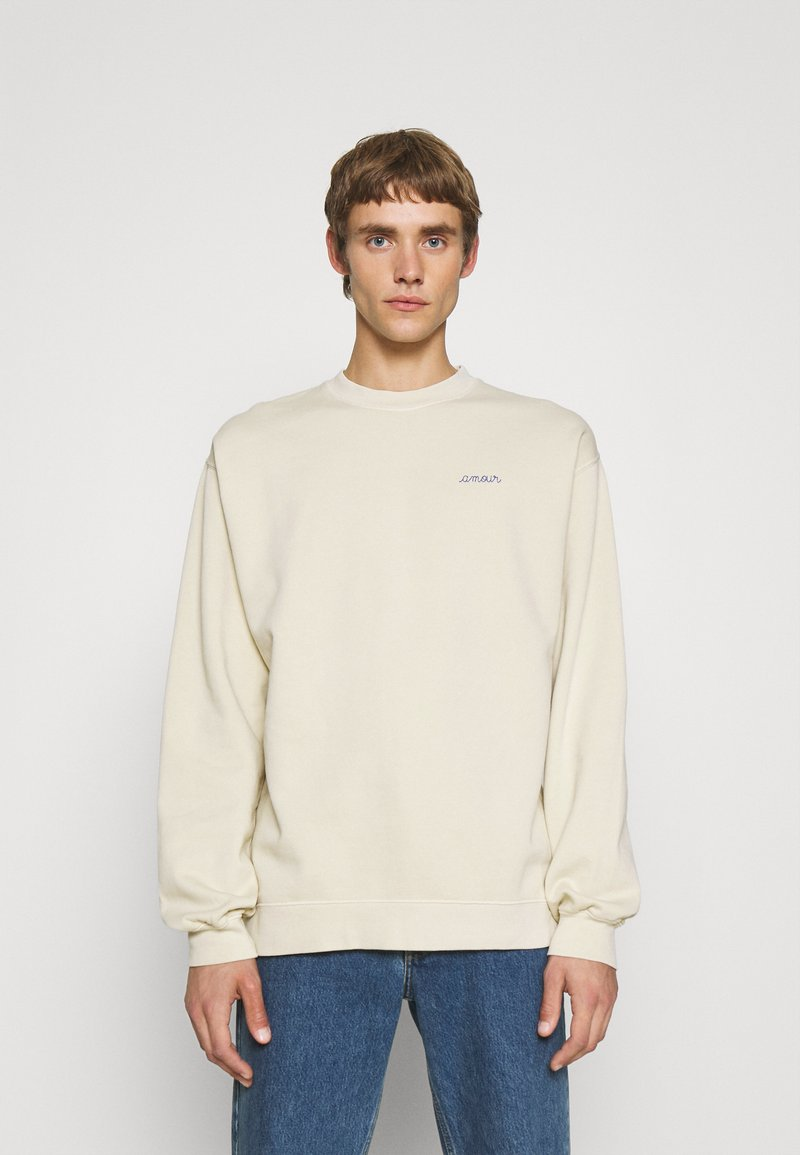 Maison Labiche - LEDRU AMOUR - Sweatshirt - linen beige washed