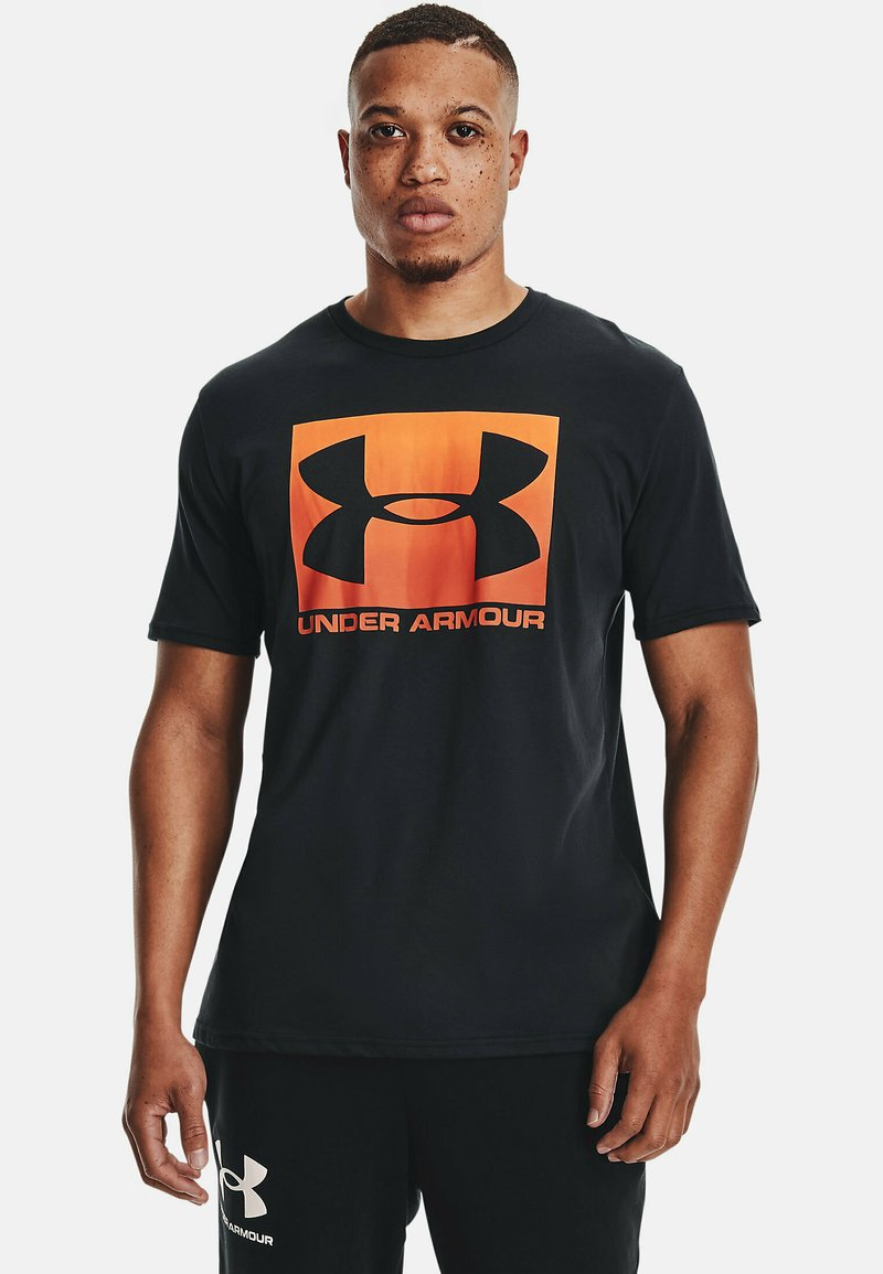 Under Armour - BOXED STYLE - Print T-shirt - black