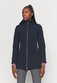 Icepeak - UHRICHSVILLE - Soft shell jacket - dark blue - 0