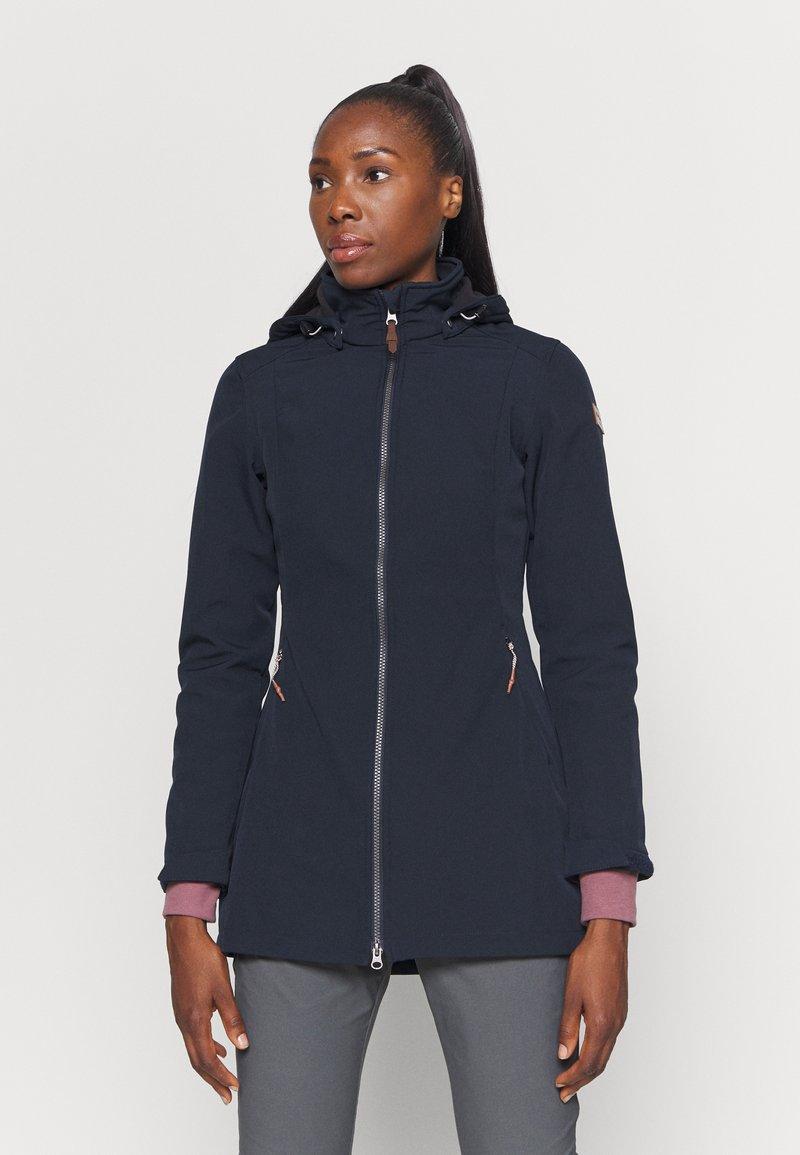 Icepeak - UHRICHSVILLE - Soft shell jacket - dark blue