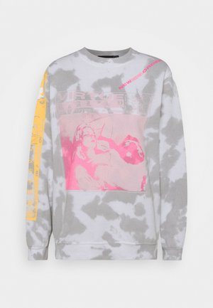 VIRTUE TIE DYE - Sweatshirt - grey
