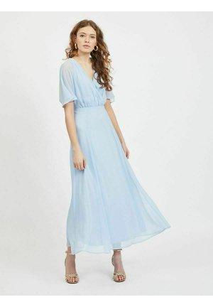 Vestito lungo - cashmere blue