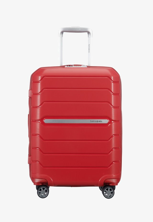 FLUX - Wheeled suitcase - red