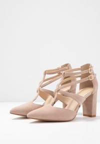 Anna Field - LEATHER PUMPS - Classic heels - nude - 4