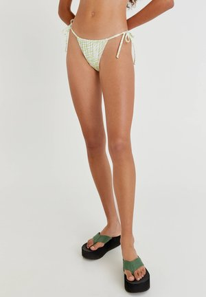 MIT ZEBRAMUSTER - Bikini bottoms - lilac