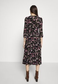 Lauren Ralph Lauren Petite - FELIA SLEEVE DAY DRESS - Sukienka z dżerseju - black/multi - 3