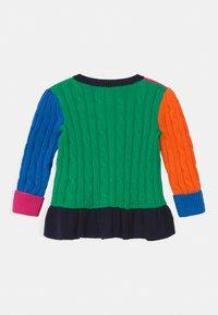 Polo Ralph Lauren - PEPLUM  - Cardigan - multi-coloured - 1