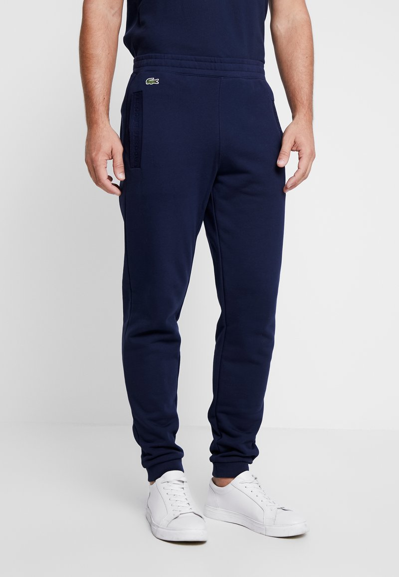 Lacoste - Tracksuit bottoms - marine