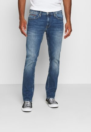 SCANTON HERITAGE - Slim fit jeans - kevin mid blue