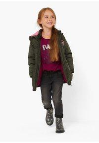 s.Oliver - Winter coat - khaki aop - 0