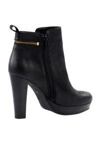 sacha - High heeled ankle boots - black - 4