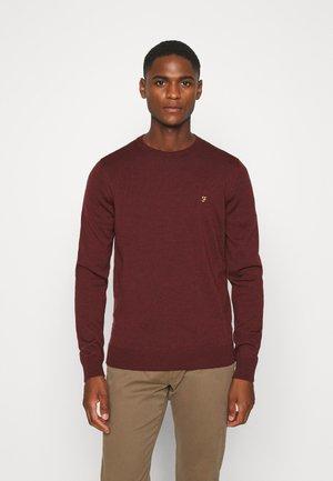 MULLEN CREW - Stickad tröja - farah burgungy