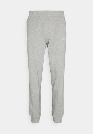 PANT CUFF LIGHT CORE - Spodnie treningowe - light middle grey melange