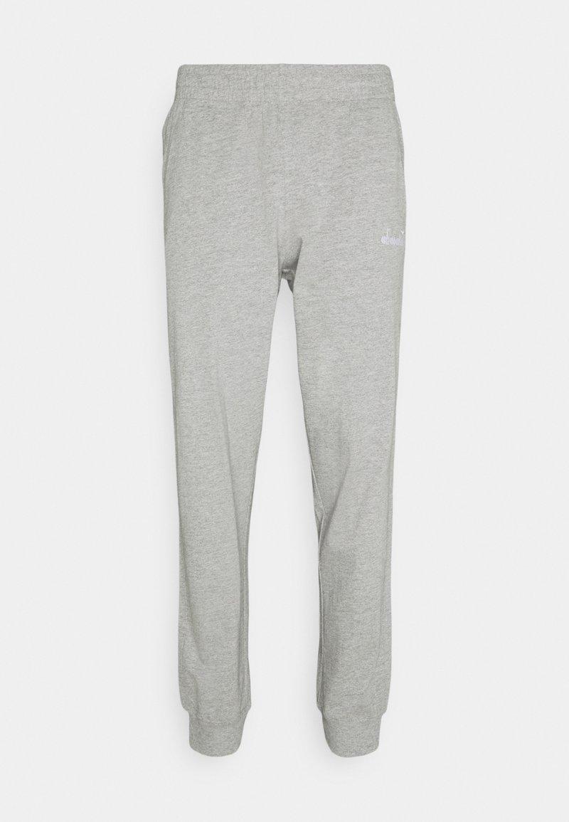 Diadora - PANT CUFF LIGHT CORE - Tracksuit bottoms - light middle grey melange