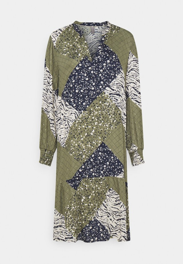 CUMILA DRESS - Day dress - burnt olive