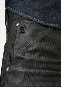 G-Star - 5620 3D ORIGNAL RELAXED TAPERED MERCHANT - Relaxed fit jeans - waxed black cobler - 4