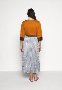 Persona by Marina Rinaldi - CAIRO - A-line skirt - turquoise - 2