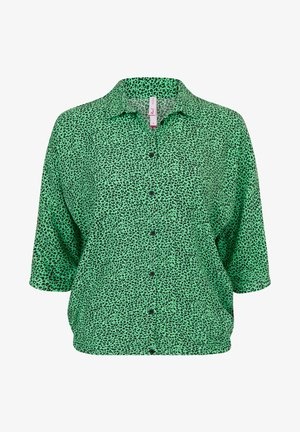MAGGIE - Button-down blouse - bright mint