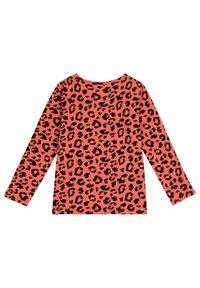 The Striped Cat - Langærmede T-shirts - savanna red - 1