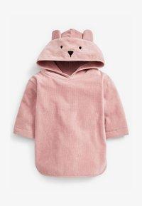 Next - TOWELLING - Jersey dress - pink - 1