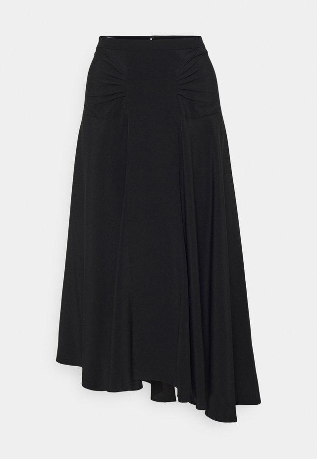 Falda acampanada - nero