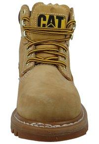 Cat Footwear - COLORADO - Botines con cordones - honey - 2