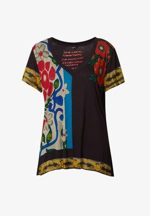 MONTANA - Print T-shirt - black
