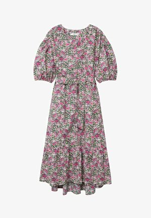 Długa sukienka - rosa