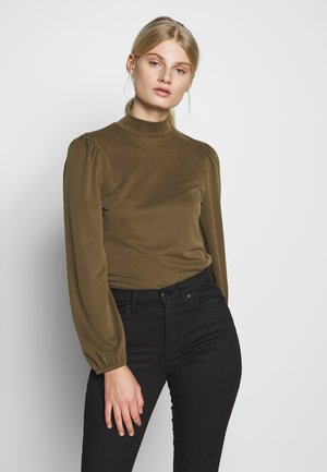 TANNA - T-shirt à manches longues - military olive