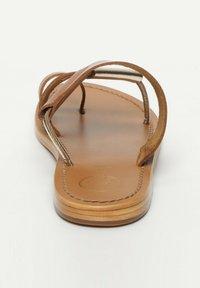 White Sun - COLIN  - T-bar sandals - camel - 2