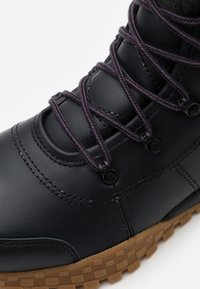 Columbia - FAIRBANKSROVER - Winter boots - black/cyber purple - 5