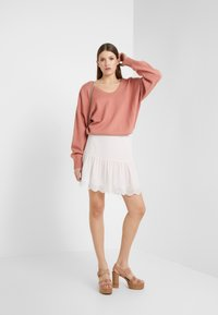 See by Chloé - Gonna a campana - softy pink - 1