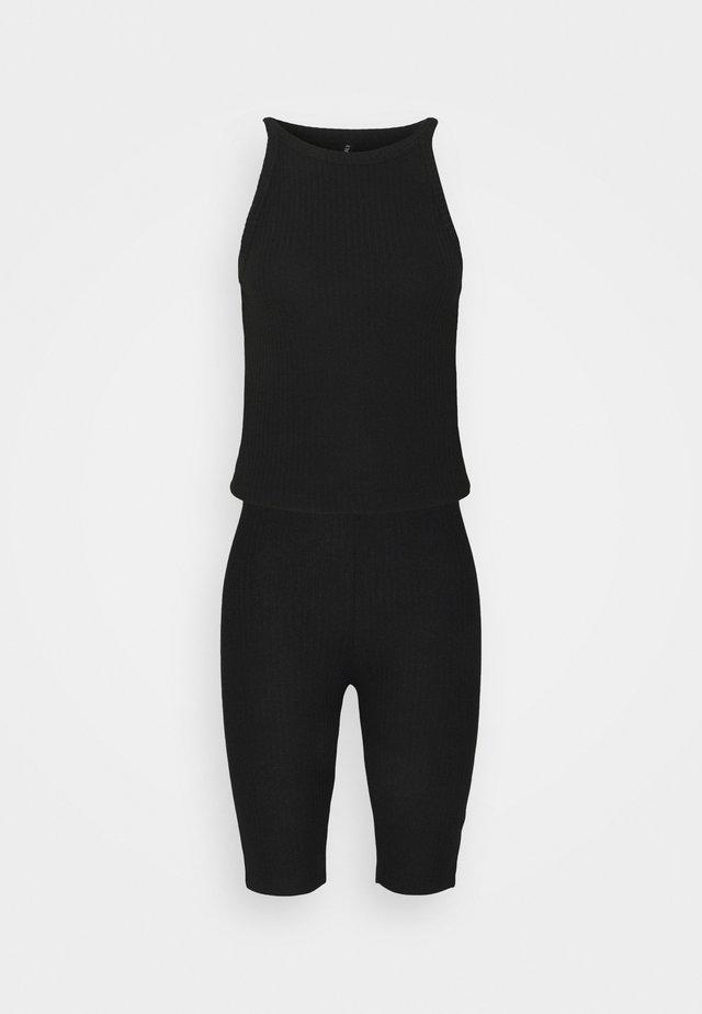 ONLNELLA  SET - Shortsit - black/black