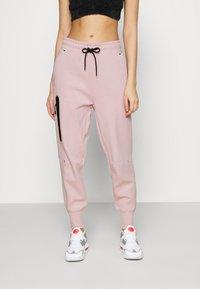 Nike Sportswear - PANT  - Tracksuit bottoms - champagne/black - 0