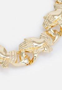 Urban Classics - PRAY HANDS BRACELET UNISEX - Bracelet - gold-coloured - 2