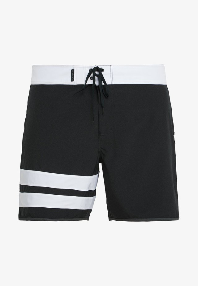 PHANTOM BLOCK PARTY SOLID - Badeshorts - black