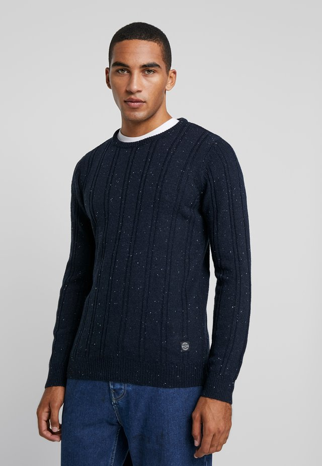 CREW NECK - Neule - navy
