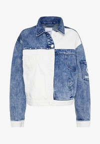 Desigual - LOLLYPOP - Kurtka jeansowa - blue deinm/white - 3