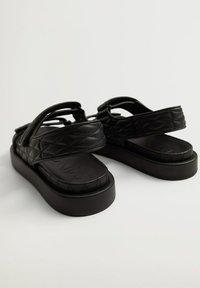 Mango - Sandals - noir - 1