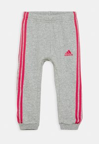 adidas Performance - LOGO SET UNISEX - Dres - haze coral/power pink/medium grey heather/power pink - 2