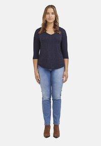 Fiorella Rubino - CON APPLICAZIONI - Long sleeved top - blu - 1