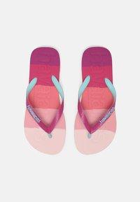 Havaianas - LOGOMANIA UNISEX - Pool shoes - gradient pink - 0