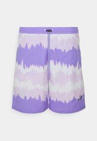 adidas Originals - UNISEX - Shorts - light purple/multicolor - 5